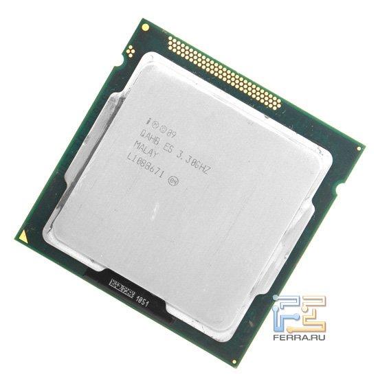 Процессор Intel Celeron G440, вид спереди