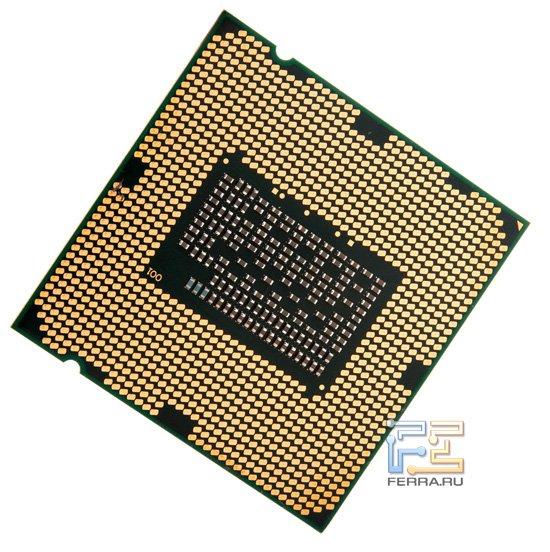 Процессор Intel Celeron G440, вид сзади