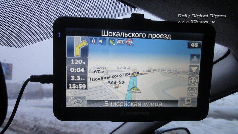 Digma DS700BN: непланшетный навигатор