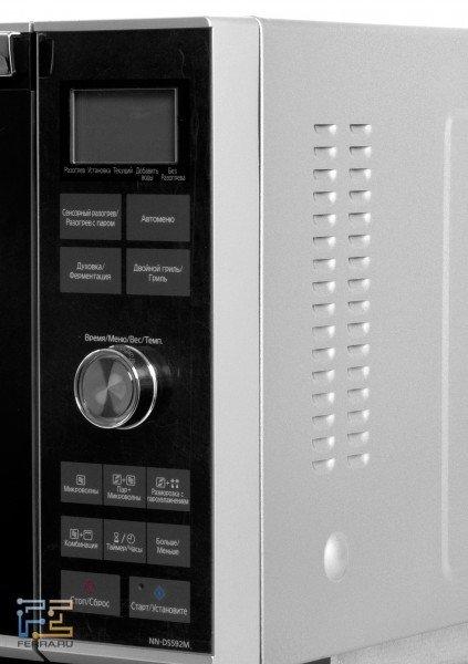 Панель управления печи Panasonic NN-DS592M