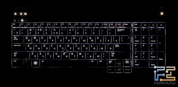 Подсветка клавиатуры Dell Precision M4700