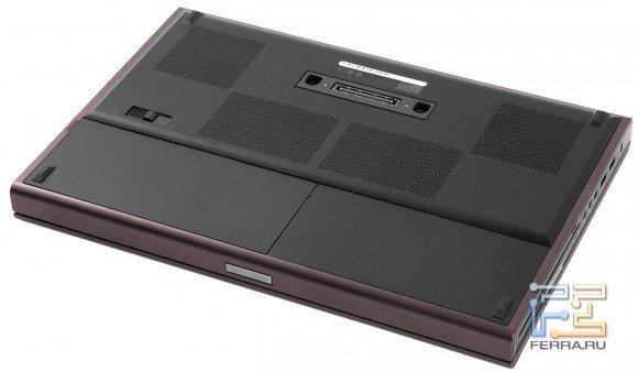 Обратная сторона Dell Precision M4700