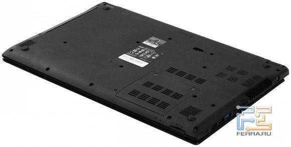 Обратная сторона Acer Aspire V5-571G