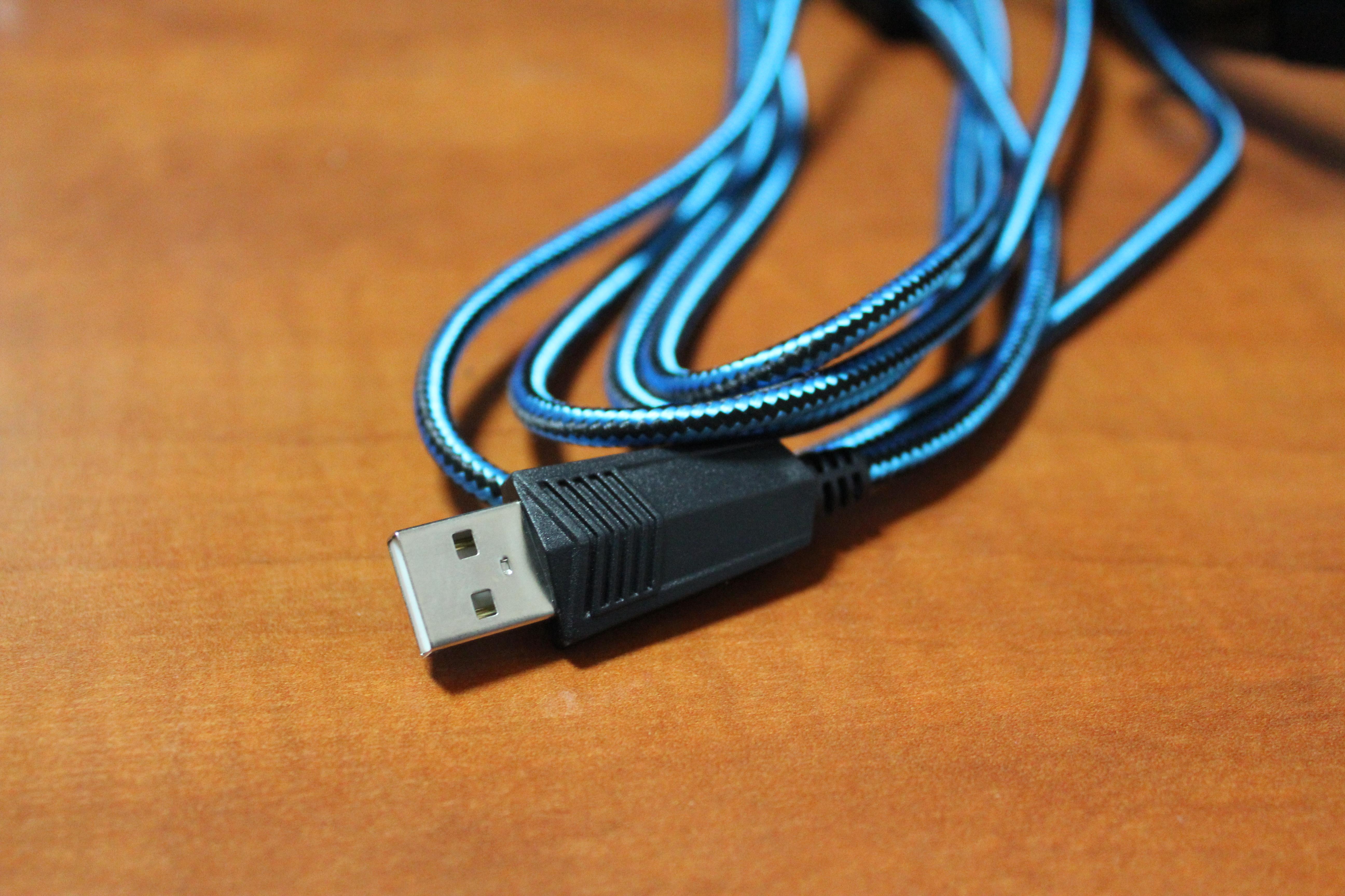 Подключение USB
