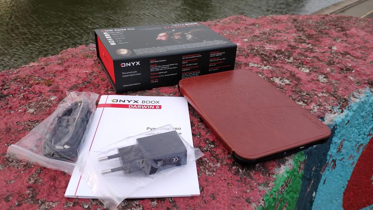 Обзор ONYX BOOX Darwin 6. Компактный ридер - VENDEE