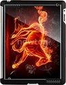 Etui na tablet AD Чехол черный с 3D изображением для iPad 2 Stikk line SYT067 Огненный конь