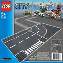 Lego 7281 T-Junction and Curve