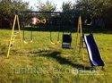 Plac zabaw i drabinka ścienna Jump Power детская площадка 8в1