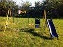 Plac zabaw i drabinka ścienna Jump Power детские качели 8 в 1